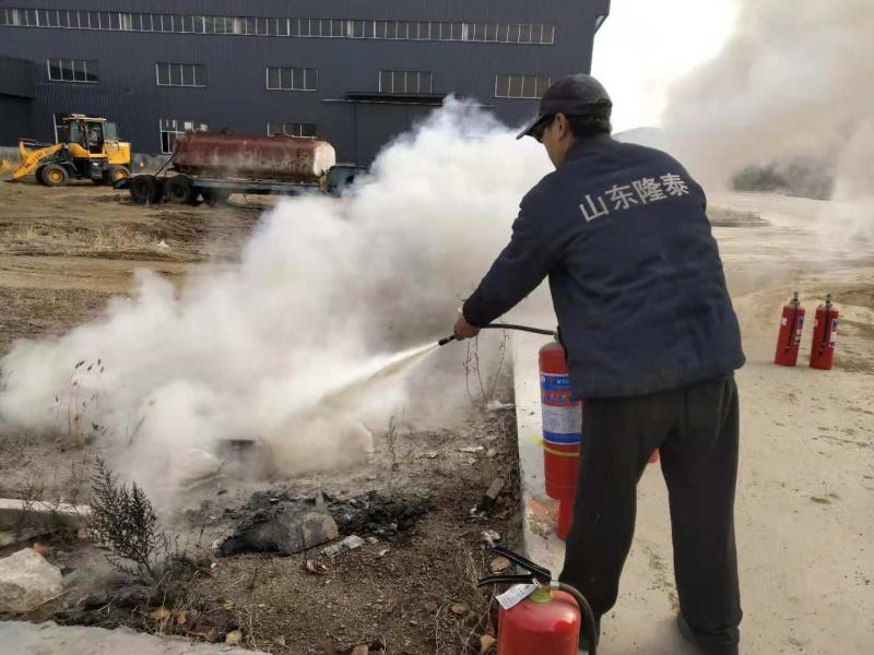 Shandong Longtai held fire training to enrich fire protection knowledge